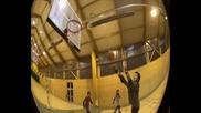 Баскетбол със скачащи кокили (kangourhop)