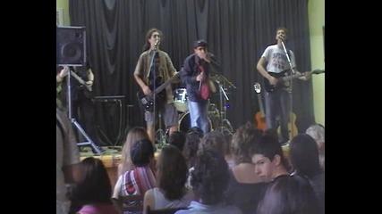 Tedi Karakolev, solo drums in Random Station band concert2010