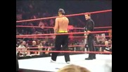 Jeff Hardy & Chris Jericho dance