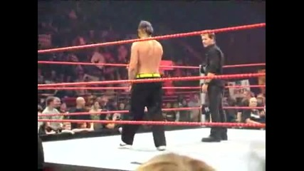 Jeff Hardy & Chris Jericho dance