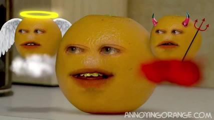 Досадният портокал се мъчи да бъде краставица