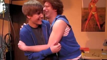 *смях* Най - лудия фен на Justin Bieber