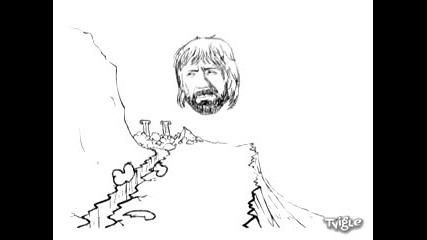 Чък норис срещу спартанеца (хрусteam)