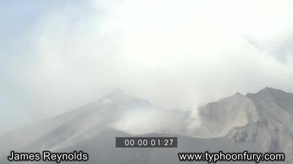 На точното място в точния момент Изригвания на Вулкани в Европа Кадри