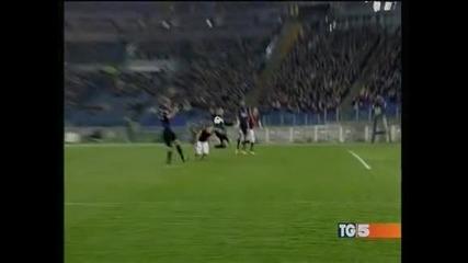 """""""Рома"""" и """"Интер"""" не си вкараха голове"""