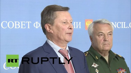 Russia: Russian Air Force's Syria deployment adheres to international law - Ivanov