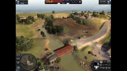 World In Conflict Gameplay + Атомна Бомба