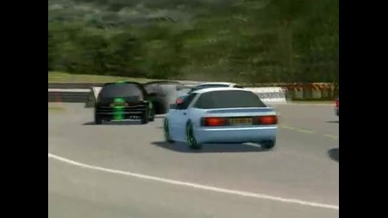 Live for Speed Crash vs Stunt