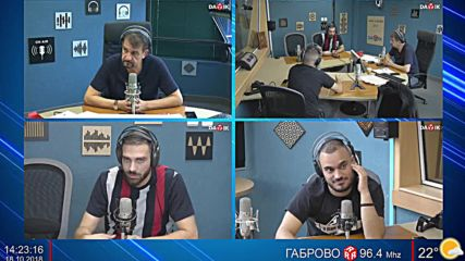 СКАНДАУ В НИКИ КЪНЧЕВ ШОУ - втора част - 18.10.2018