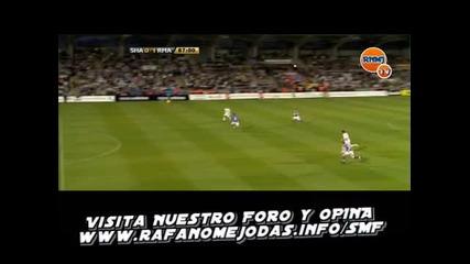 [hq] Karim Benzema 1st goal for Real Madrid vs Shamrock Rovers 2009/07/20
