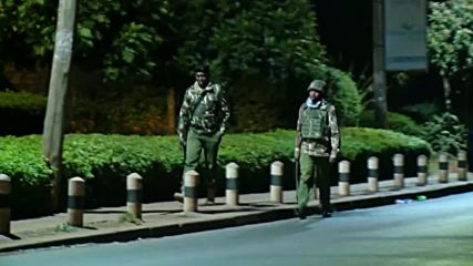 Kenya: Soldiers on scene following deadly DusitD2 hotel attack in Nairobi