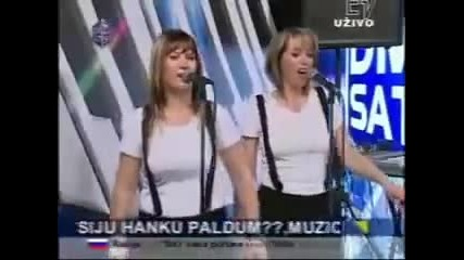 Halid Beslic - Iznad Tesnja - (Live) - Sto Da Ne Show - (TV DM)