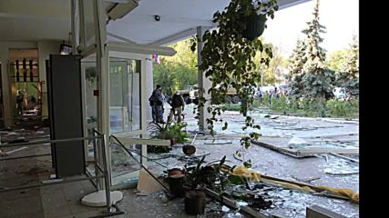 Russia: Harrowing images capture aftermath of deadly Kerch college attack *EXCLUSIVE*