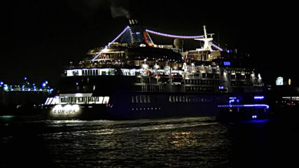 Germany: Ocean liner offering the world's most expensive cruise sets off from Hamburg