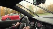 Bmw M6 F13 560 коня стандартно побеждава Audi Rs6 Mtm 702 коня
