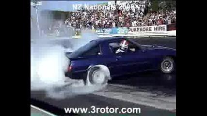 Mazda Rx - 7 - 3 Minuti Burnout