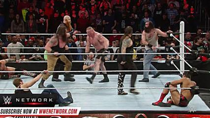 Brock Lesnar meets The Wyatt Family: Royal Rumble 2016