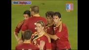 Spain - Belgium 1 - 0 Goal na David Silva