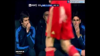 """Реал Мадрид 1-0 Байерн Мюнхен, Роналдо 6' Уефа Шампионска Лига 2012 """" Santiago Bernabeu """""""