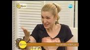 Емануела на гости на Гала - На кафе (08.07.2014г.)