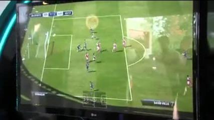 Кой от играчите на Арсенал е най-добър на Fifa 12?
