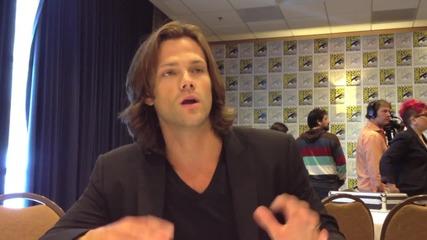 2012 Comic-con - Supernatural's Jared Padalecki