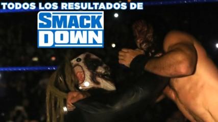 Todos los resultados de SmackDown: WWE Ahora, Octubre 12, 2019