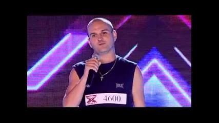 Момчето което накара публиката да се пръсне от смях X Factor Bulgaria 2013