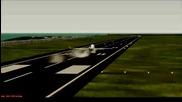 Кацане на летище Бари, B738-800w Ryanair Pmdg