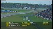 Schumacher Show - Г П на Европа 1995 - Част 2 [ 4 ]