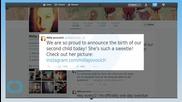 Milla Jovovich and Paul W.S. Anderson Share the First Picture of Newborn Daughter Dashiel Edan!