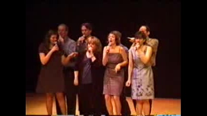 Canvas - The Simpsons theme song - a cappella