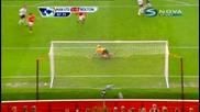 Победния гол на Бербатов - Ман Юнайтед - Болтън 1:0