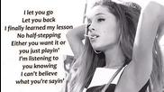 Ariana Grande - Problem ft. Iggy Azalea (lyrics On Screen)