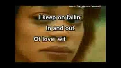 Karaoke Alicia Keys - Fallin