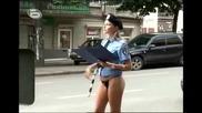 Без Дрехи - Полицайка Без Пола * Субтитри *