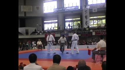 Slavi Slavov (bul) vs Li Linjian (kor) All Japan 2010, Quarter-final