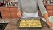 Cheesy Garlic Dinner Rolls Recipe - Laura Vitale