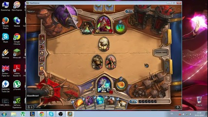 Hearthstone Gameplay Mage