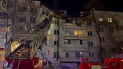 Russia: Rescuers pull injured teenager from rubble after residential bld explosion