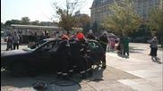 Демонстрация на спасяване на пострадал при Птп
