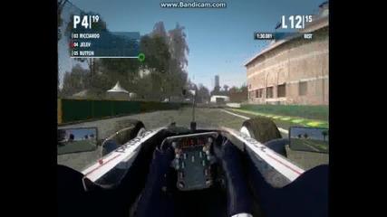 F1 2012 непредсказуемо състезание в Австралия.