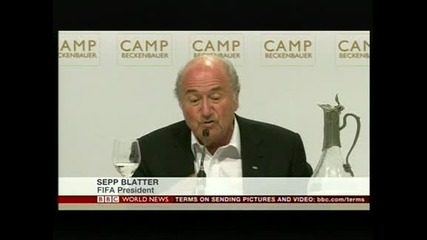 Блатер заяви, че Световното през 2022 в Катар ще бъде през зимата