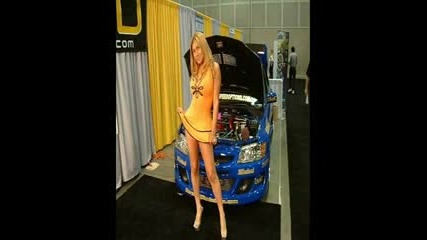 Girls At Car Shows 2