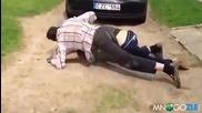Пияни литовци се бият Смях