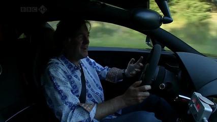 Bugatti Veyron развива 431 км/ч - Top Gear