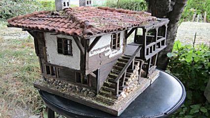 Страра къща макет (diorama model of realistic bugarian house)