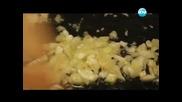 Салата от пресни картофи, крем супа от тиквички, тарт с гъби и сметана - Бон Апети (14.05.2013)