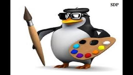 Пингвина Художник:весело Детско Стихче