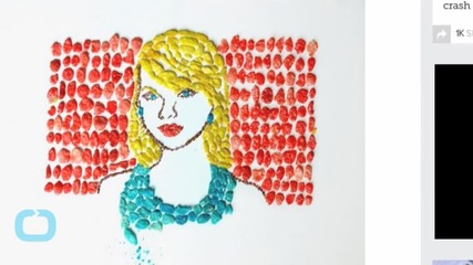 Breakfast Art Series Gives Celebrities a Snap, Crackle and Pop